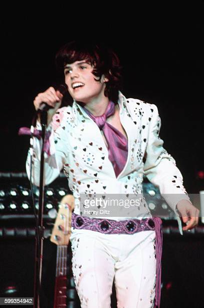 Donny Osmond Performing in Concert