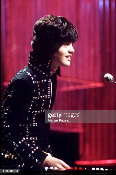 Donny Osmond performs on TV show UK 1976
