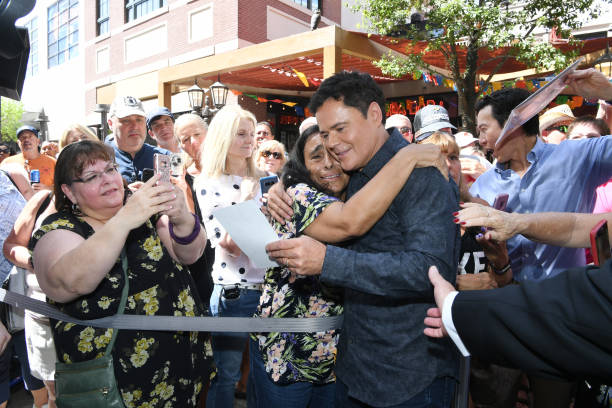NV: Donny And Marie Osmond Receive The Keys To The Las Vegas Strip