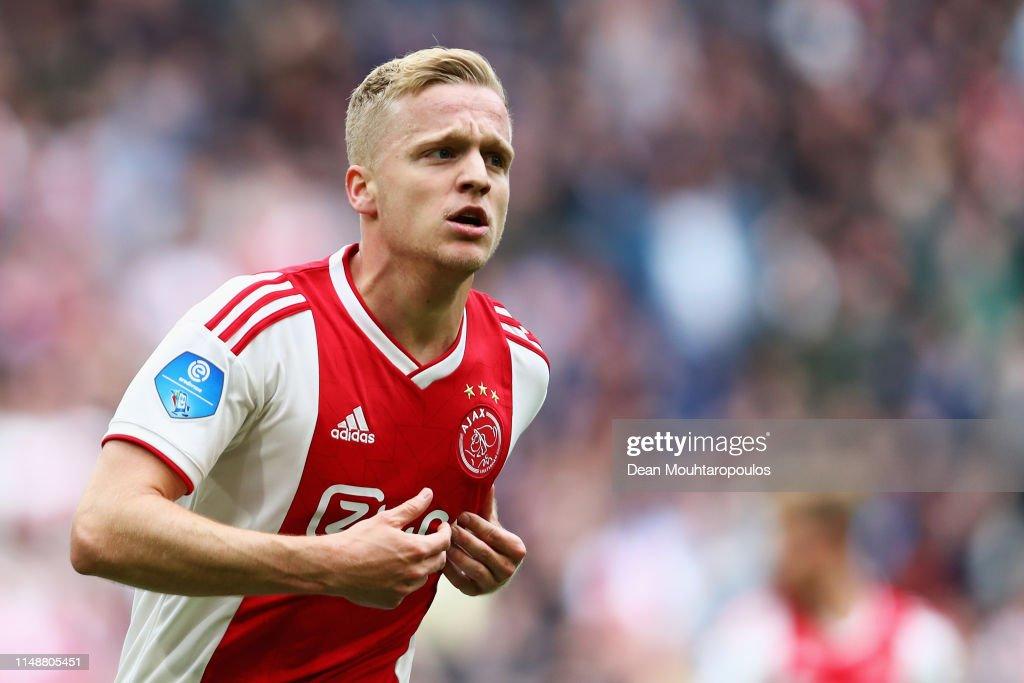 Ajax v Utrecht - Eredivisie : News Photo