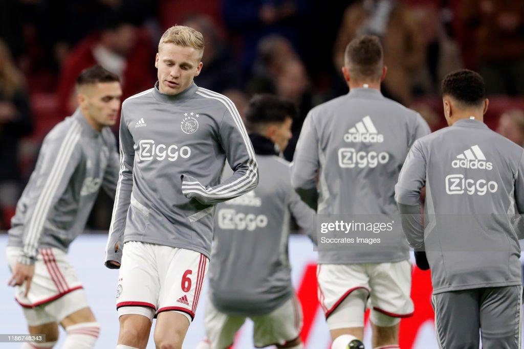 Ajax v Willem II - Dutch Eredivisie : News Photo