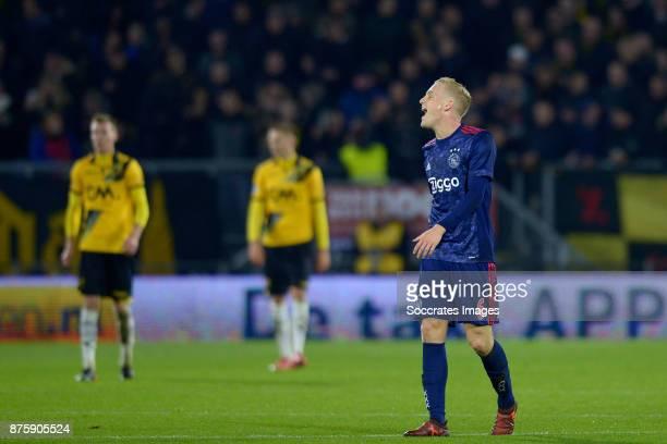 Donny van de Beek of Ajax during the Dutch Eredivisie match between NAC Breda v Ajax at the Rat Verlegh Stadium on November 18 2017 in Breda...