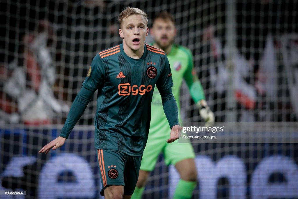 FC Utrecht v Ajax - Dutch KNVB Beker : News Photo