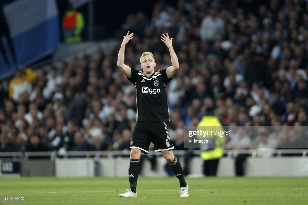 """UEFA Champions League""""Tottenham Hotspur FC  v Ajax"""" : News Photo"""