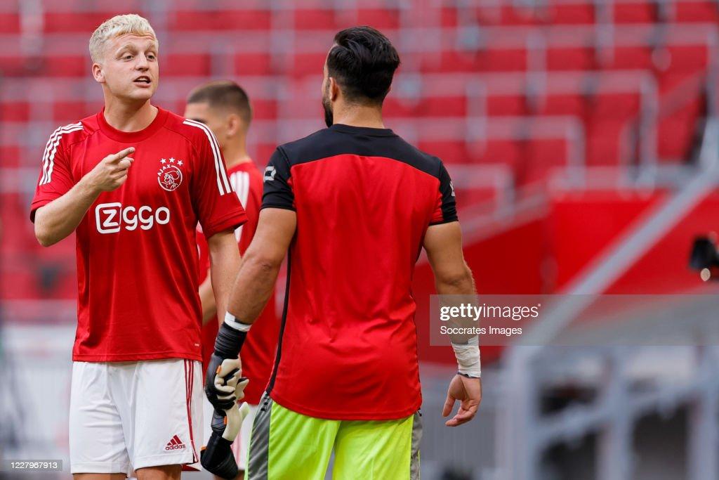 Ajax v RKC Waalwijk - Club Friendly : News Photo