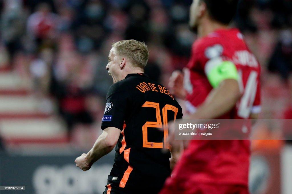 Gibraltar v Holland -World Cup Qualifier : ニュース写真