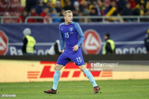 Donny van de Beek of Holland during the friendly match between Romania and The Netherlands on November 14 2017 at Arena National in Bucharest Romania