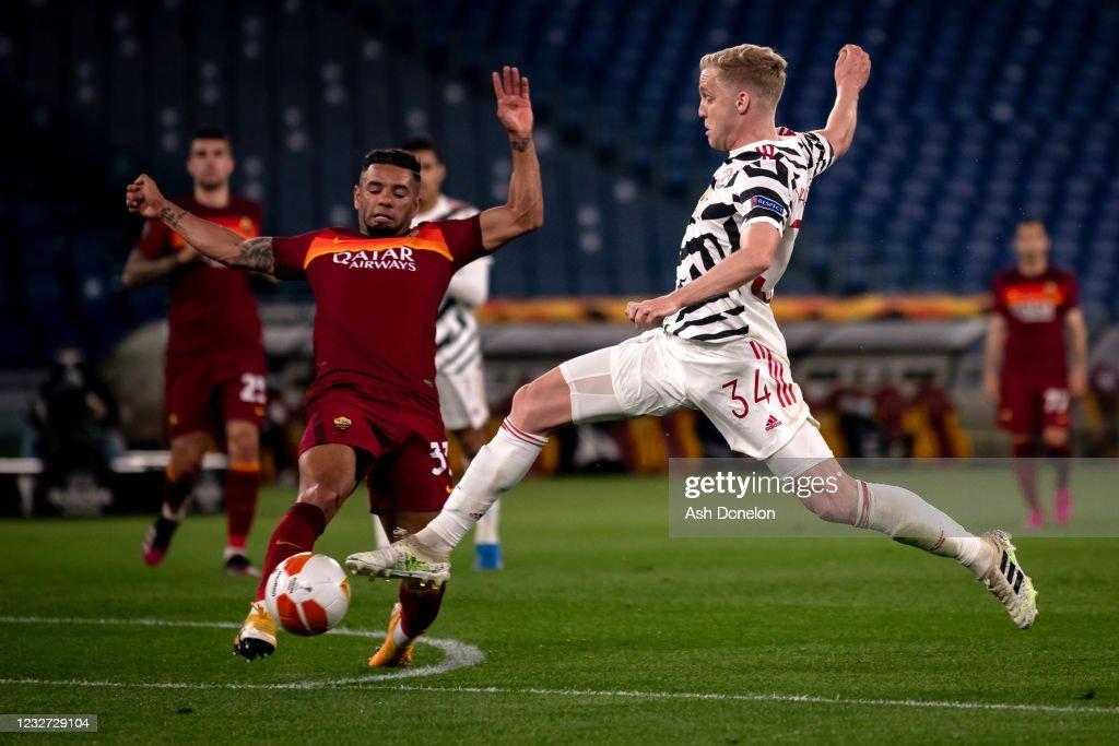 AS Roma v Manchester United - UEFA Europa League Semi Final: Leg Two : News Photo