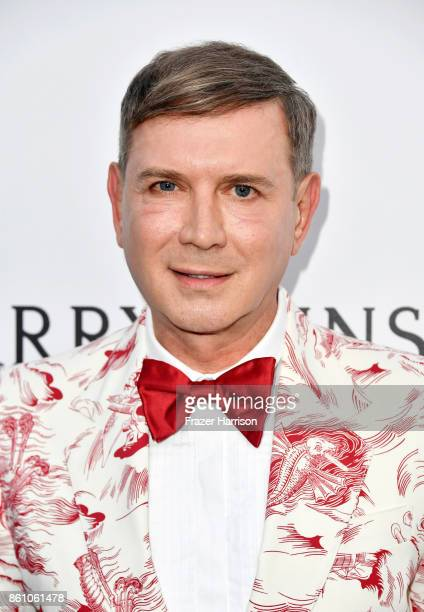 Donor Eugene Sadovoy attends the amfAR Gala Los Angeles 2017 at Ron Burkle's Green Acres Estate on October 13 2017 in Beverly Hills California