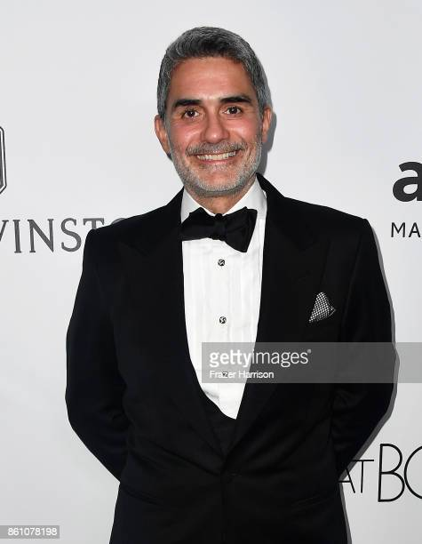 Donor Felipe Diniz attends the amfAR Gala at Ron Burkle's Green Acres Estate on October 13 2017 in Beverly Hills California