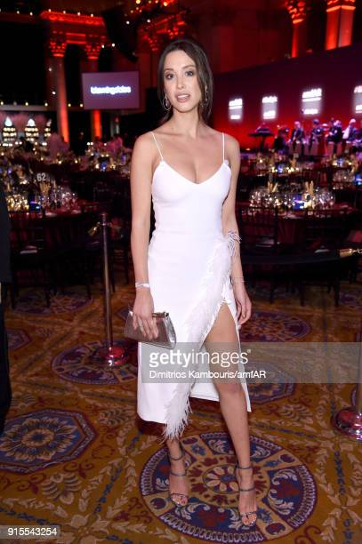 Donor Melissa Bolona attends the 2018 amfAR Gala New York at Cipriani Wall Street on February 7, 2018 in New York City.