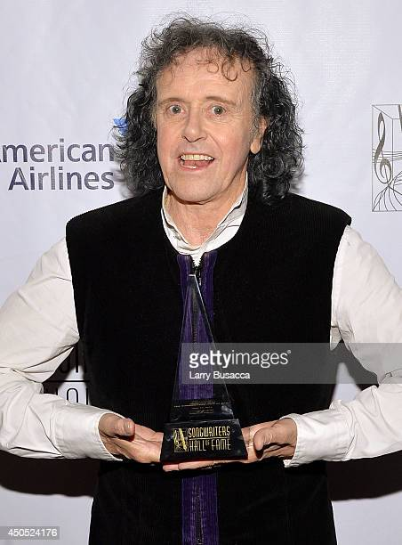 Donovan attends Songwriters Hall of Fame 45th Annual Induction And Awards at Marriott Marquis Theater on June 12 2014 in New York City