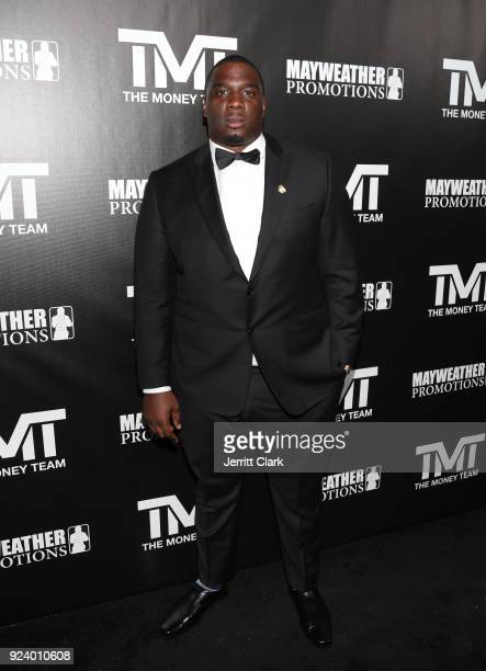 Donovan Carter attends Floyd Mayweather's 41st Birthday Party at The Reserve on February 24 2018 in Los Angeles California