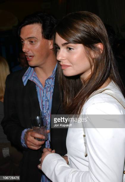 Donovan Leitch Aimee Osbourne during Playstation 2 Hosts the Movieline Young Hollywood Awards AfterParty in Los Angeles California United States