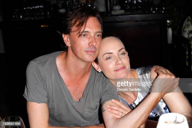 Donovan Leitch and Amber Valletta attend Vogue and MAC Cosmetics dinner hosted by Lisa Love and John Demsey in honor of Prabal Gurung at the Chateau...