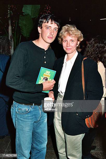 Donovan Leitch and Enid Karl during HBO's Screening of Teamster Boss The Jackie Presser Story at DGA in Hollywood CA United States