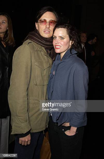 Donovan Leitch and Ione Skye during Final Flight Of The Osiris World Premiere at Steven J Ross Theatre in Burbank California United States