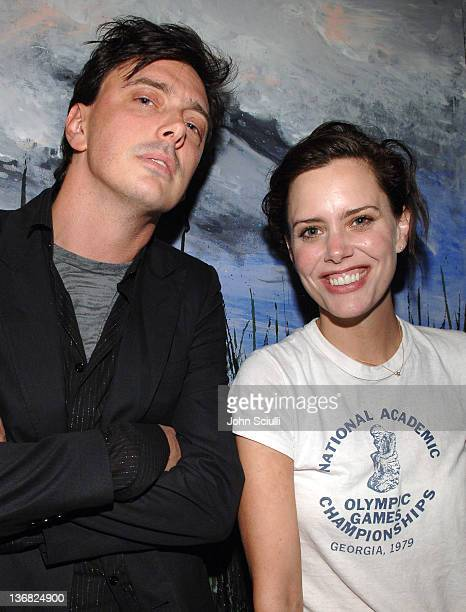 Donovan Leitch and Ione Skye during Ultimatebetcom Kari Feinstein and Mike McGuiness Host Celebrity Poker Tournament to Honor Clifton Collins Jr's...