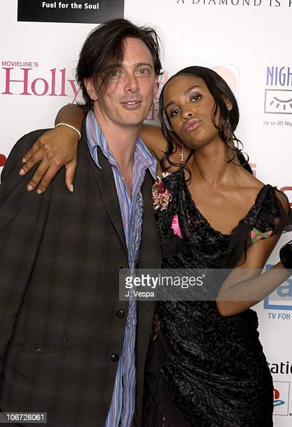 Donovan Leitch and Joy Bryant during AMC & Movieline's Hollywood Life Magazine's Young Hollywood Awards - Portrait Gallery at El Rey Theatre in Los...
