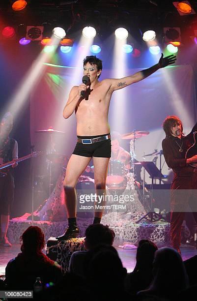 Donovan Leitch as Hedwig of Hedwig and The Angry Inch