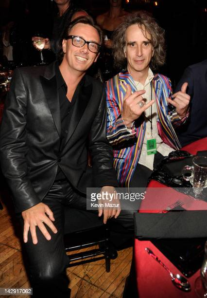 Donovan Leitch attends the 27th Annual Rock And Roll Hall Of Fame Induction Ceremony at Public Hall on April 14, 2012 in Cleveland, Ohio.