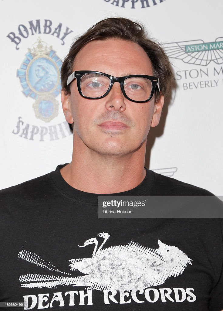 Donovan Leitch attends the VIP opening reception for 'Dis-Ease', an evening of fine art with Billy Morrison at Mouche Gallery on September 2, 2015 in Beverly Hills, California.