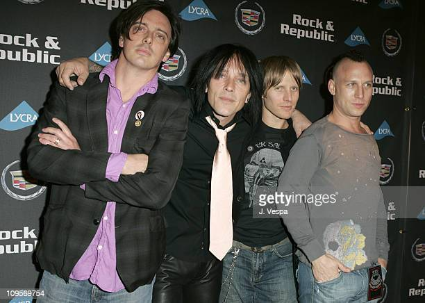 Donovan Leitch Billy Morrison Chris Chaney and Stephen Perkins