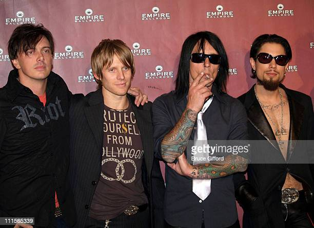 Donovan Leitch Chris Chaney Billy Morrison and Dave Navarro