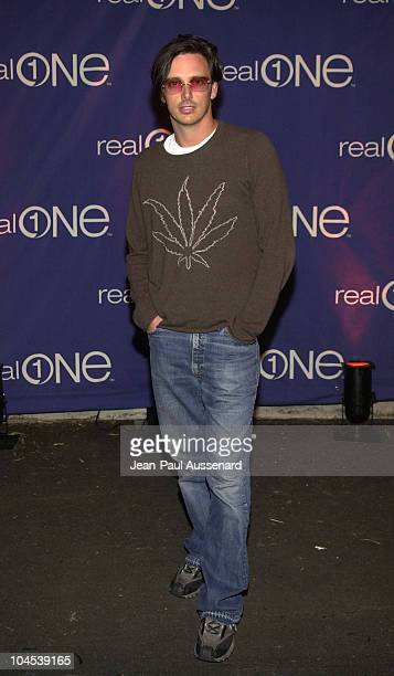 Donovan Leitch during RealOne Launch Party at Pacific Design Center in West Hollywood California United States