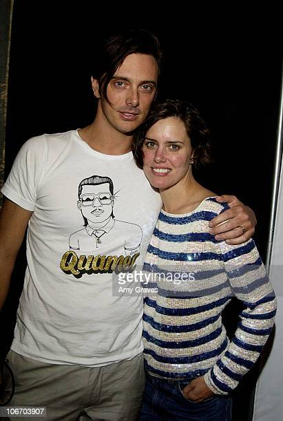 Donovan Leitch Ione Skye during Premiere of Phantom Planet's Lonely Day Video and Levi's Dangerously Low TV Ads at The Downtown Standard Hotel in Los...