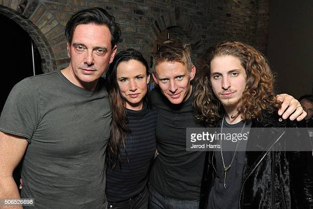Donovan Leitch Juliette Lewis Chris Chaney and Andrew Watt attend ChefDance Park City 2016 Presented by Velocity on January 23 2016 in Park City Utah