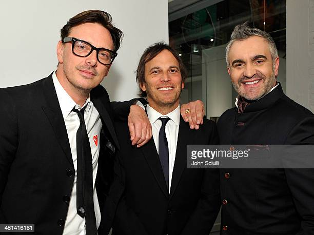 Donovan Leitch Nathan Ross and interior designer Martin Lawrence Bullard attend MOCA's 35th Anniversary Gala presented by Louis Vuitton at The Geffen...