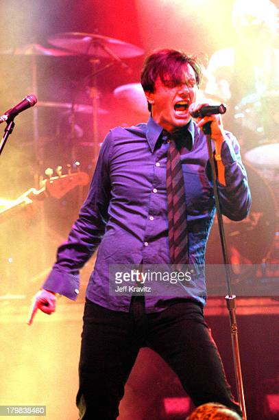 Donovan Leitch of Camp Freddy during Camp Freddy Benefit Concert for South East Asia Tsunami Relief at Key Club in Hollywood California United States