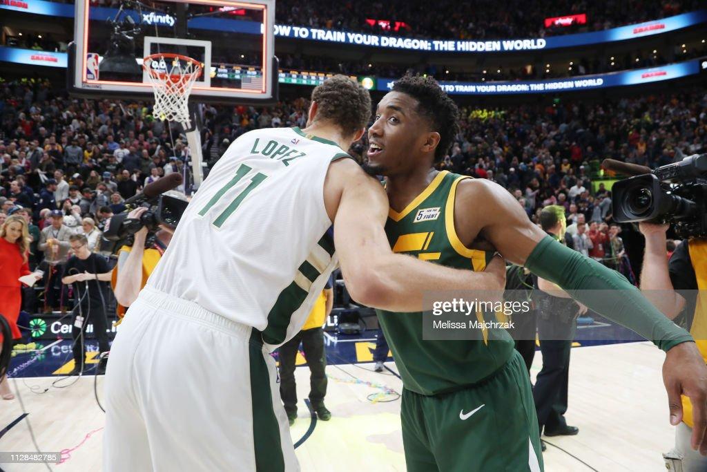 Milwaukee Bucks v Utah Jazz : News Photo