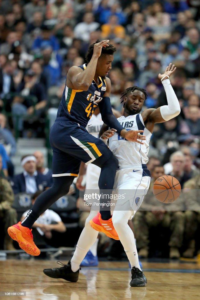 Utah Jazz v Dallas Mavericks : Nachrichtenfoto