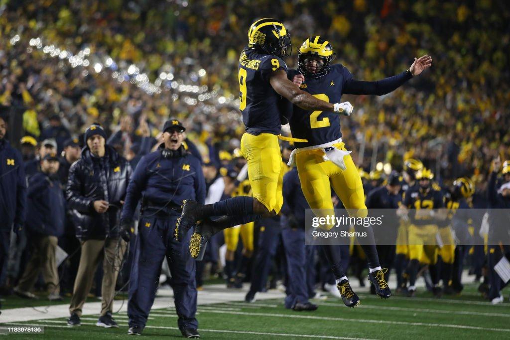 Notre Dame v Michigan : ニュース写真