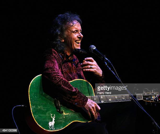 Donovan performs at Portsmouth Guildhall on October 24 2015 in Portsmouth United Kingdom