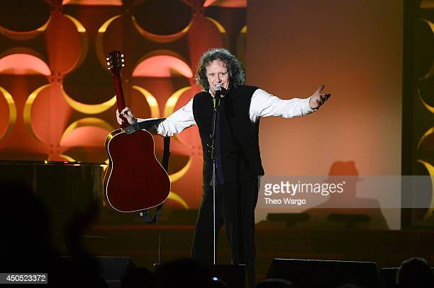 Donovan performs onstage at Songwriters Hall Of Fame 45th Annual Induction And Awards at Marriott Marquis Theater on June 12 2014 in New York City
