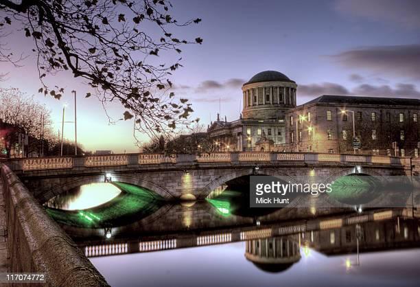 o'donovan rossa bridge, dublin - dublin republic of ireland stock pictures, royalty-free photos & images