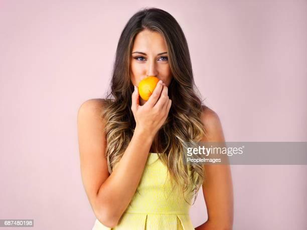 Seien Sie keine saure Orange, süß sein