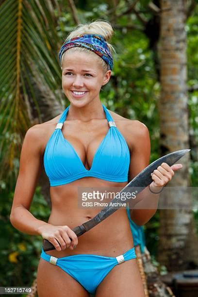 'Don't Be Blinded By The Headlights' Angie Layton of the Matsing Tribe during the second episode of Survivor Philippines Wednesday September 26 on...