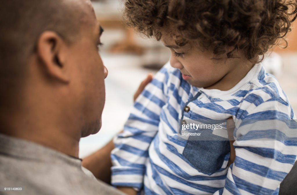Don't be sad son, everything will be ok! : Stock Photo