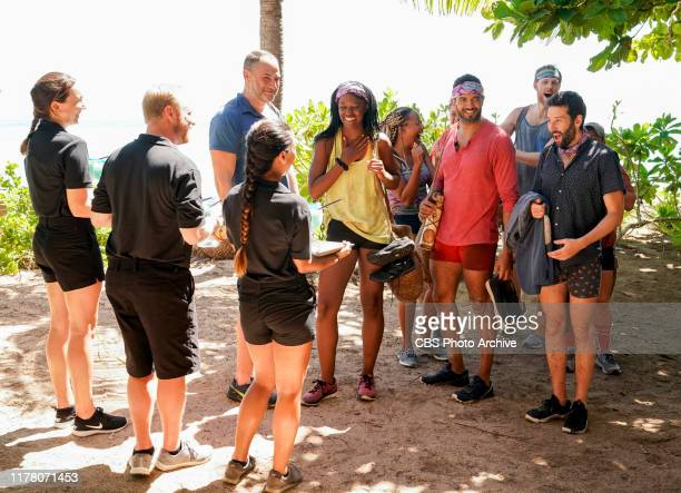 Don't Bite the Hand That Feeds You Dan Spilo Missy Byrd Lauren Beck Aaron Meredith Tommy Sheehan and Jason Linden on the Fifth episode of SURVIVOR...
