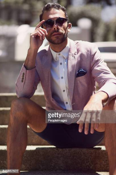 i don't dress up for anyone but me - men fashion stock photos and pictures