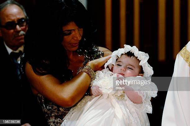 """Don't Drink the Holy Water"""" Episode 213 -- Pictured: Teresa Giudice, Audriana Giudice"""