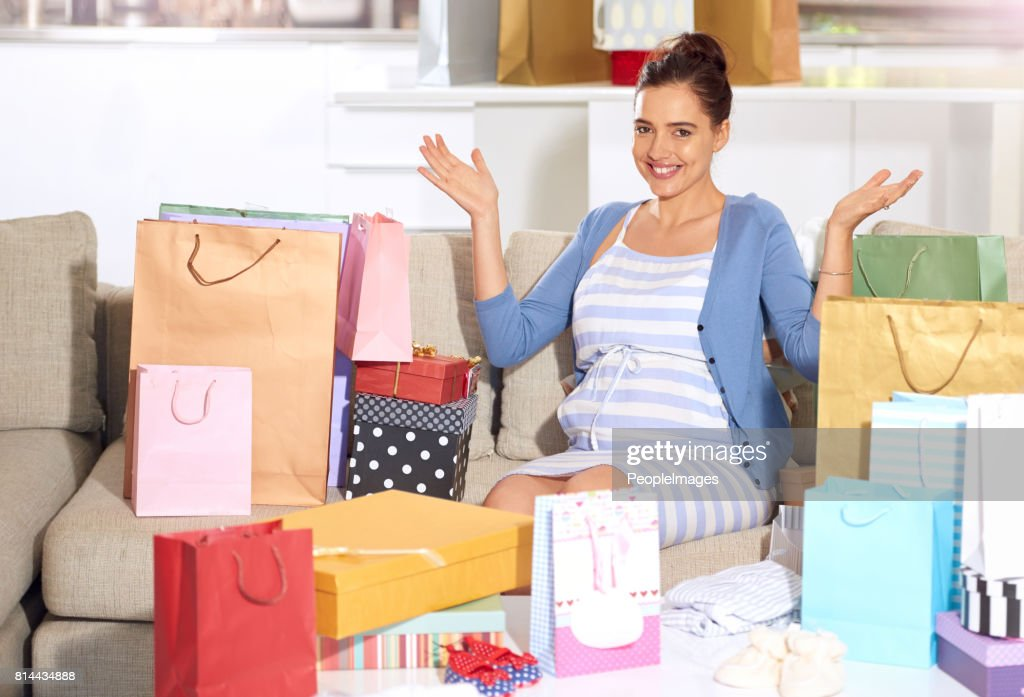 I don't even have to do any shopping : Stock Photo