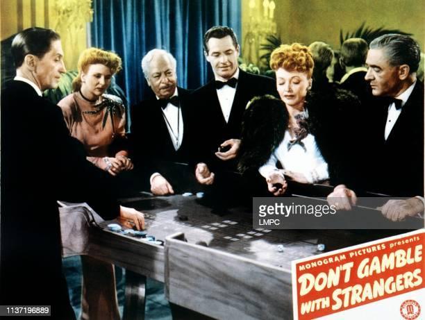 Don't Gamble With Strangers lobbycard lr Gloria Warren Frank Dae Kane Richmond Bernadene Hayes Anthony Caruso on lobbycard 1946