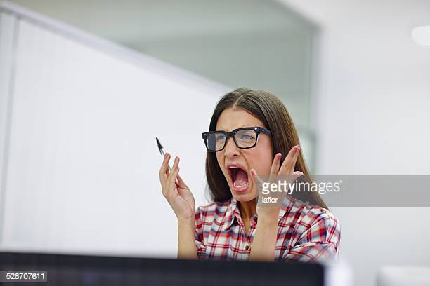 i don't have the patience for this - shouting stock photos and pictures