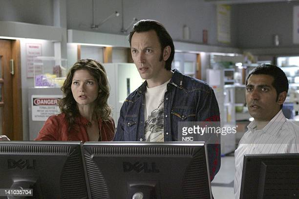 JORDAN Don't Leave Me This Way Episode 21 Pictured Jill Hennessy as Dr Jordan Cavanaugh Steve Valentine as Dr Nigel Townsend Ravi Kapoor as Dr Mahesh...