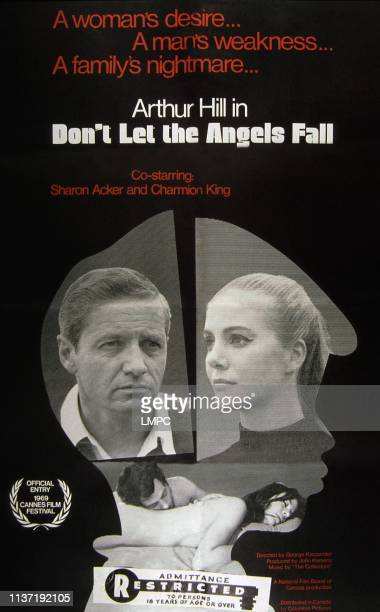 Don't Let The Angels Fall poster from left Arthur Hill Sharon Acker 1969